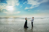 海景婚紗照-自助婚紗攝影與婚紗照
